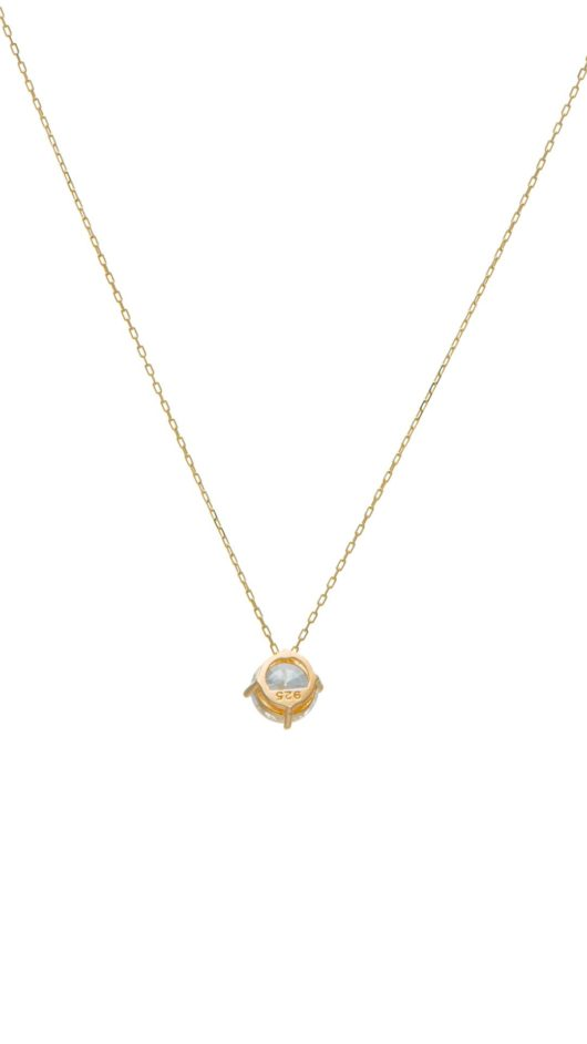 SANTORINI Sunset Women Necklace 24 Carat Gold Plated Chain