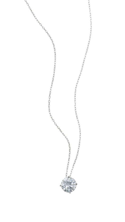 SANTORINI Silver Women Necklace 24 Carat Gold Plated Chain