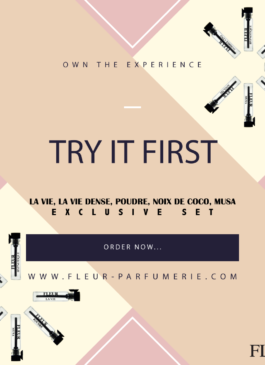 5 Perfume Sample Vials for Women - Exclusive